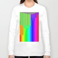pivot Long Sleeve T-shirts featuring R Experiment 5 (quicksort v3) by X's gallery