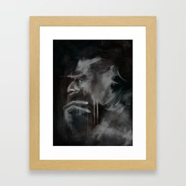 Thinker Framed Art Print