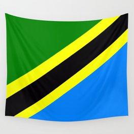 Flag of Tanzania Wall Tapestry
