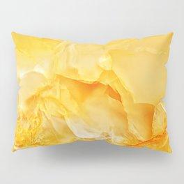 Yellow onyx marble Pillow Sham