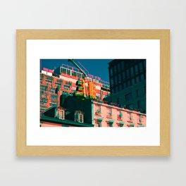 City Jam Framed Art Print