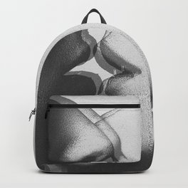 Two girls kissing Backpack