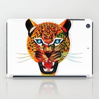 jaguar iPad Cases featuring jaguar by Alvaro Tapia Hidalgo