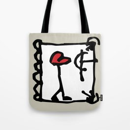 Errant Heart, a symbolic and poetic composition. Tote Bag