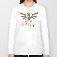 bioshock infinite Long Sleeve T-shirts featuring Bioshock Infinite: Song of the Songbird by Macaluso