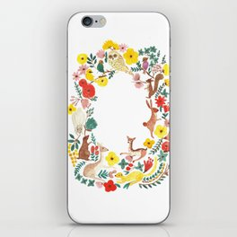 in the forest iPhone Skin