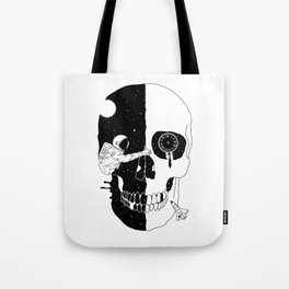 After Life (A Glimpse into a Void or the Moment of a Disappearing Existence) Tote Bag