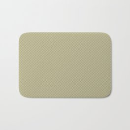 Grape Vine Purple on Earthy Green Parable to 2020 Color of the Year Back to Nature Angled Grid Bath Mat
