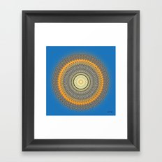 Fleuron Composition No. 214 Framed Art Print