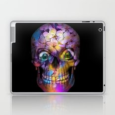 Amazing Floral Skull A Laptop & iPad Skin
