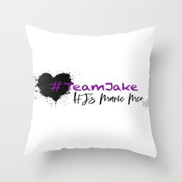 Team Jake Throw Pillow