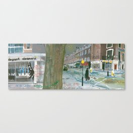 London #6. Connaught Street W2 2AY Canvas Print