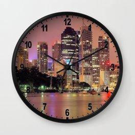 Brisbane City Wall Clock