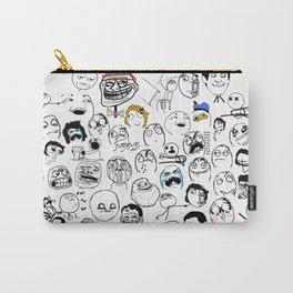 Meme Faces Carry-All Pouch