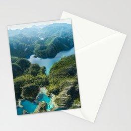Coron Island, Philippines Stationery Cards