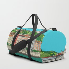 Lyon, France Duffle Bag