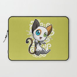 Zodiac Cats - Gemini Laptop Sleeve