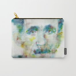 GEORGE ORWELL - watercolor portrait.1 Carry-All Pouch