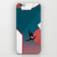 mad men iPhone & iPod Skins featuring Mad Men by PIXERS