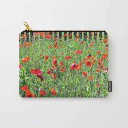 Sea of Poppies Carry-All Pouch