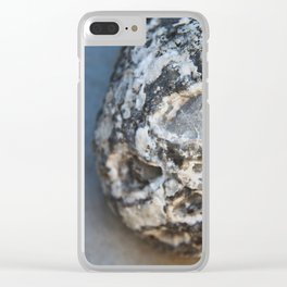 Stone Sphere Clear iPhone Case