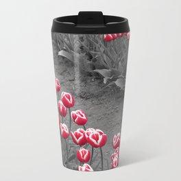 Tulip pop Metal Travel Mug