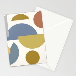 Mid Century Modern Geometric 9  #society6 #decor #buyart #artprint Stationery Cards