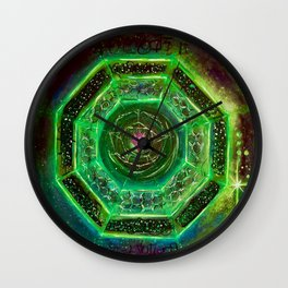 Sacred Sigil Of Archangel Raphael Wall Clock