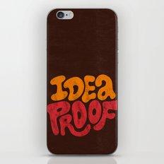 Idea Proof! iPhone & iPod Skin