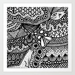 Doodle 13 Art Print