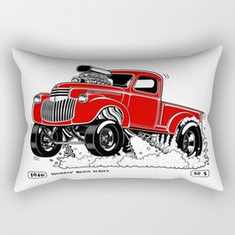 1946 Chevy Pick-up – RED Rectangular Pillow