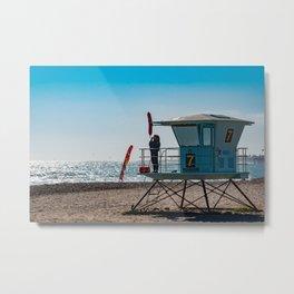Surfside Lookout Metal Print