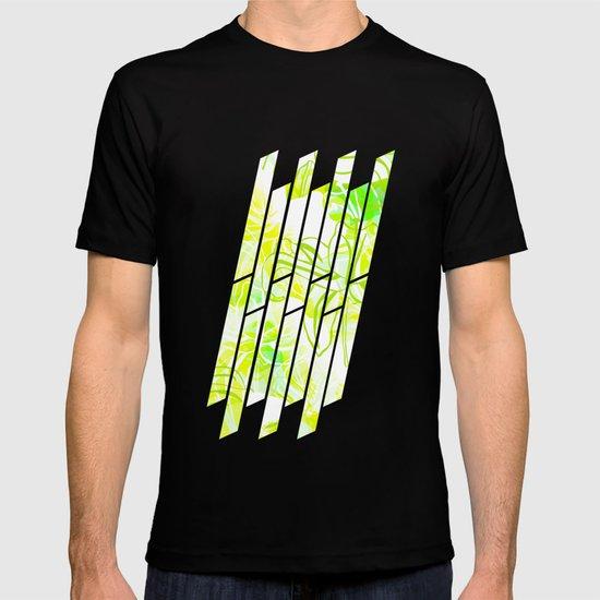 Green Flowers T-shirt