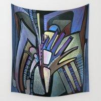 wings Wall Tapestries featuring WINGS by Deyana Deco