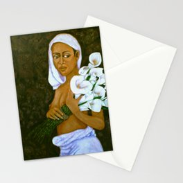 Flowers for an old love Stationery Cards