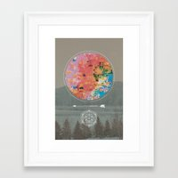 fault Framed Art Prints featuring Fault by RJ Creative