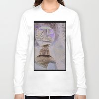 moulin rouge Long Sleeve T-shirts featuring vieux moulin by isabelle masse ouellette