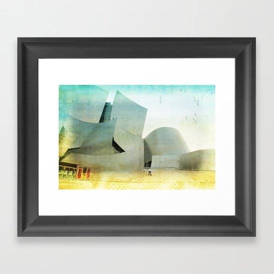 Walt Disney Concert Hall _ Los Angeles Framed Art Print