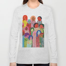 All the People Long Sleeve T-shirt