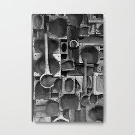 Glass Blower Molding Metal Print