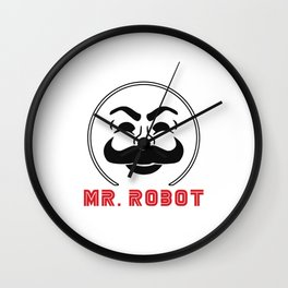MR Robot Fsociety Wall Clock