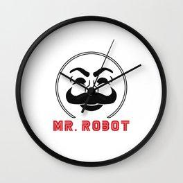 MR Robot Fsociety Wall Clock
