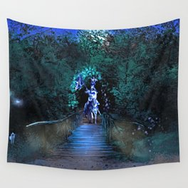 Entering Sherwood Forest Wall Tapestry