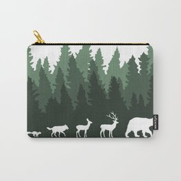 The Walk Through The Forest Carry-All Pouch