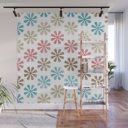 Lovely Floral Pattern Wall Mural