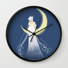 Moon Princess Wall Clock