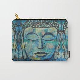 Blue Zen Buddha Carry-All Pouch