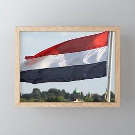 if it ain't Dutch... Framed Mini Art Print