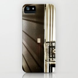 Let the light shine through. iPhone Case
