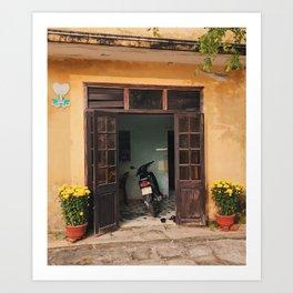 Vietnam Bungalow Art Print
